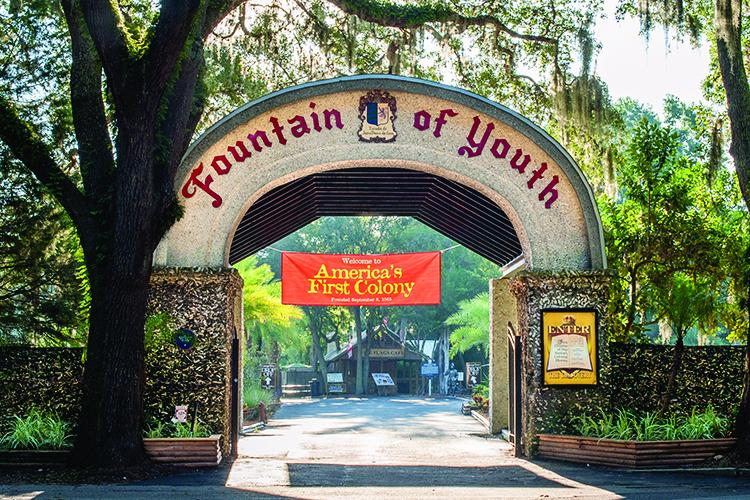 Fountain of Youth   St. Augustine & Ponte Vedra, FL