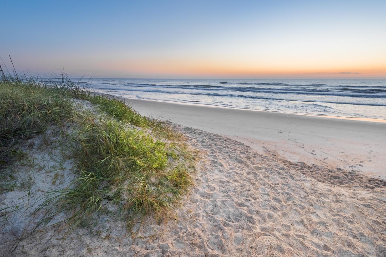 St Augustine Beach And Ponte Vedra